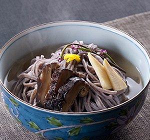 画像1: 自然薯麺(そば) 〜じねんめん〜 二人前めんつゆ付き